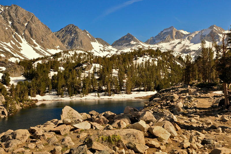 Bear Creek Spire, Little Lakes Valley, John Muir Wilderness.