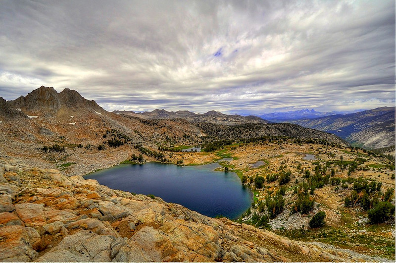 Chief Lake, Silver Pass, John Muir Wilderness.