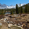 Rock Creek below Heart Lake, Little Lakes Valley, John Muir Wilderness