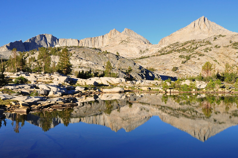 Mt. Hooper, Marie Lake, John Muir Wilderness.