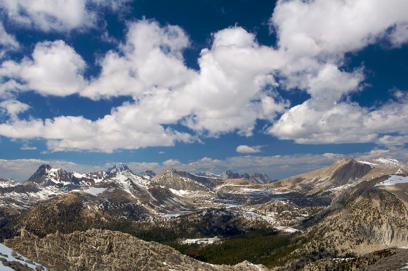 Mt. Hopkins, Red and White Mountain, Mt Crocker, Mt. Stanford, Pioneer Basin, John Muir Wilderness