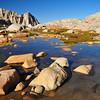 Consultation Lake Outlet, Whitney Portal, John Muir Wilderness.