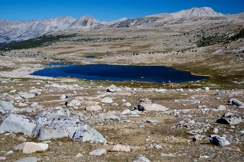 Summit Lake, Humpreys Basin, John Muir Wilderness