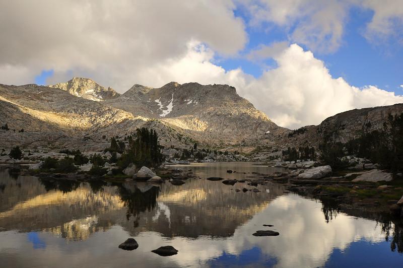 Marie Lake, Selden Pass, John Muir Wilderness.