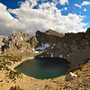 Big Pothole Lake, Kearsarge Pass, John Muir Wilderness.
