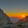 Whitney Portal Sunrise, John Muir Wilderness