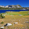 Lake Virginia, John Muir Wilderness.