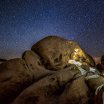Starry Night at Rock Arch