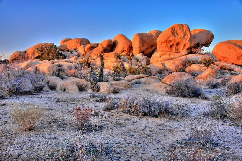Sunset in the desert 3