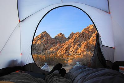 Camping at Joshua Tree National Park