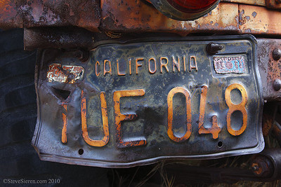 Bill Keys Willy Jeep Plate Joshua Tree National Park History
