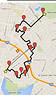 Map of the Julia Morgan Walk organized by Oakland Urban Paths