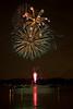 orange green fireworks  _MG_5774