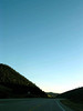 mountain curve