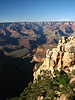6/1 Daunting view across to Bright Angel Canyon and the North Rim.  We have to cross all that, wow!