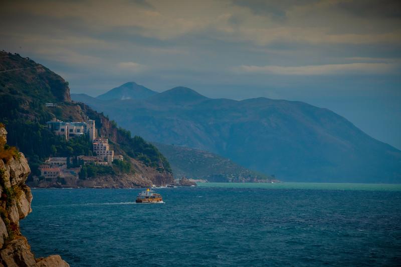 Sailing Along The Crotian Coastline - Dubrovnik, Croatia