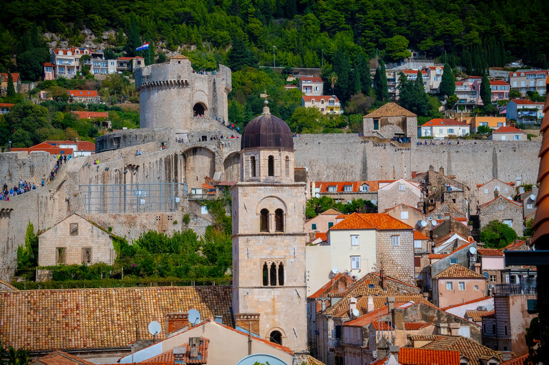 At The Heart Of Old Town - Dubrovnik, Crotia
