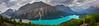 Peyto Lake Pano - Peyto Lake, Icefields Parkway, Alberta, Canada