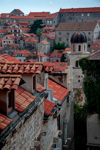 The Unique Rooftop Look Of Old Dubrovnik - Dubrovnik, Croatia