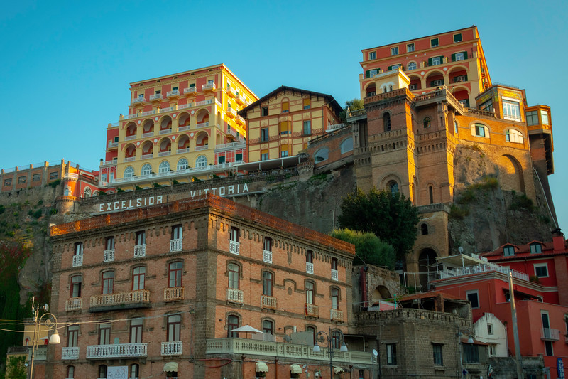 Cliffside Hotels In The Port Of Sorrento Sorrento, Italy