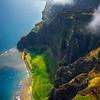 First Views Of Na Pali Coastline - Na Pali Coastline, Kauai, Hawaii