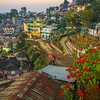 Dusk Settles On The Hillsides Of Kohima - Kohima, North-Eastern India
