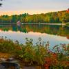 Shoreline Trails Around Lake George - Algonquin Provincial Park, Nipissing, South Part, Ontario, Canada
