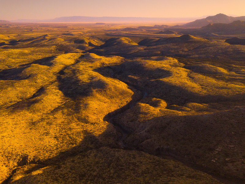 Rivers Running Through The Chihuahuan Desert - Guadalupe Mountains National Park and Chihuahuan Desert, West Texas