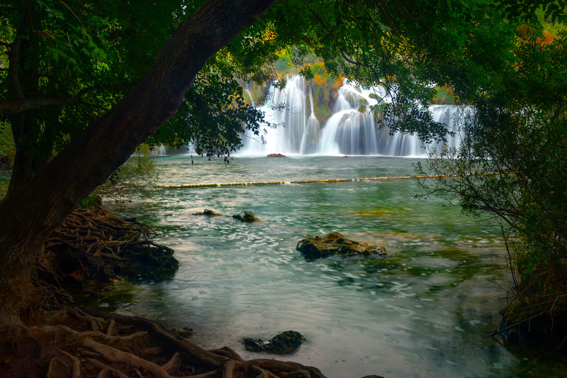 From Inside The Alcove - Krka National Park, Split, Croatia