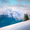 The Olympic Mountain Winter Peaks - Hurricane Ridge, Olympic National Park, WA