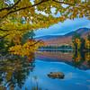 Framed Silence At Dusk - Vermont