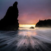 Water Coming From All Sides - Ruby Beach, Olympic National Park, WA