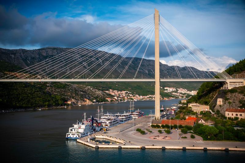 The New Dubrovnik Bridge In Late Afternoon Light - Dubrovnik, Croatia