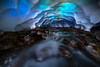 The Coolness Of Ice Caves On Mt Rainier