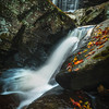 Diagonal Lines Coming Into The Falls-Ricketts Glen State Park, Benton,  Pennsylvania