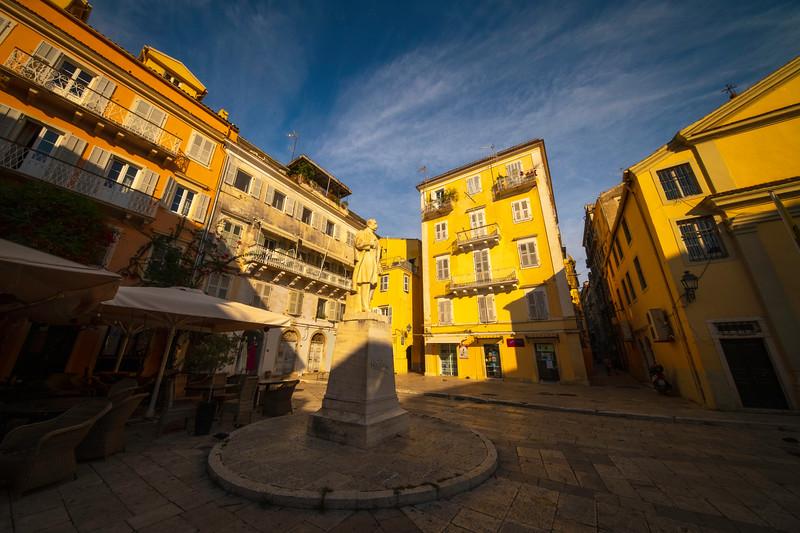 The Old History Buildings Of Corfu - Corfu, Greece