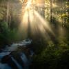 Sol Duc Falls Sunburst - Sol Duc Falls, Olympic National Park, WA