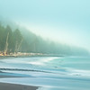 Foggy Mist Along The Olympic Peninsula and Rialto Beach - Rialto Beach, Olympic National Park, WA