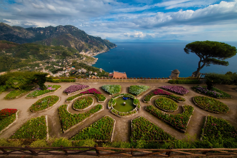 Garden Of Eden With The Best Views - Ravello, Amalfi Coast, Campania, Italy