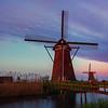 Windmill Under The Twilight Skies