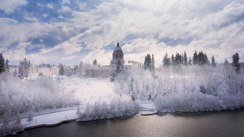 Winter Wonderland On The Capital Grounds