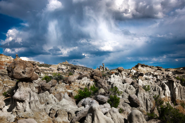 Under A Cool Dark Sky - Casper, Wyoming