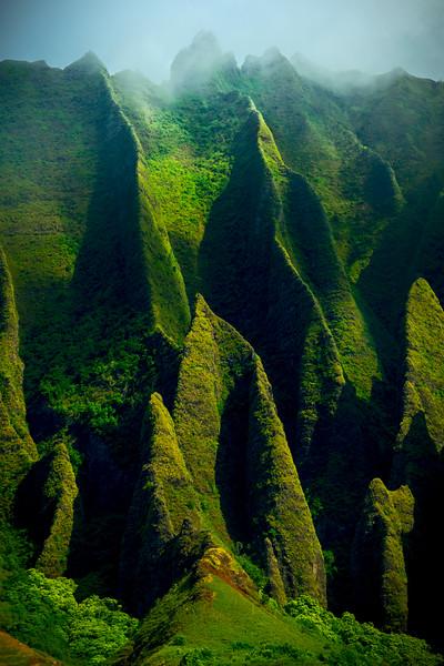 From Another Planet - Na Pali Coastline, Kauai, Hawaii
