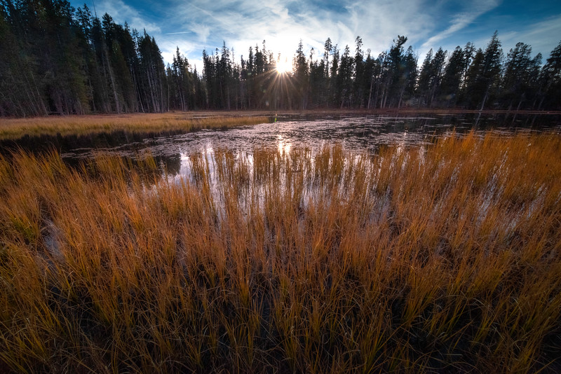 Siesta Lake In Late Afternoon - Lower Yosemite Valley, Yosemite National Park, California