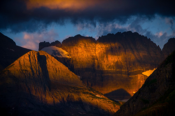 Peeled Back Layers Within The Light - Swiftcurrent Lake, Many Glacier, Glacier National Park, Montana