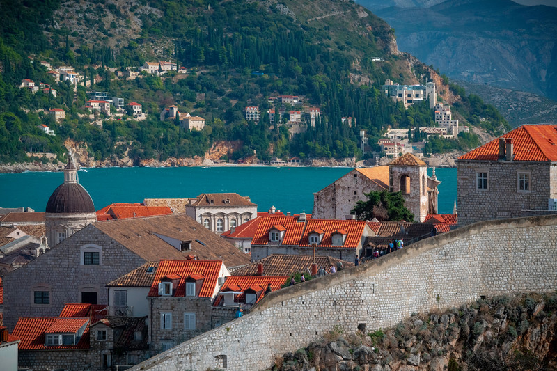 A Closer Look At The Old Town - Dubrovnik, Crotia