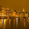Quietness Beauty Of Amsterdam At Night