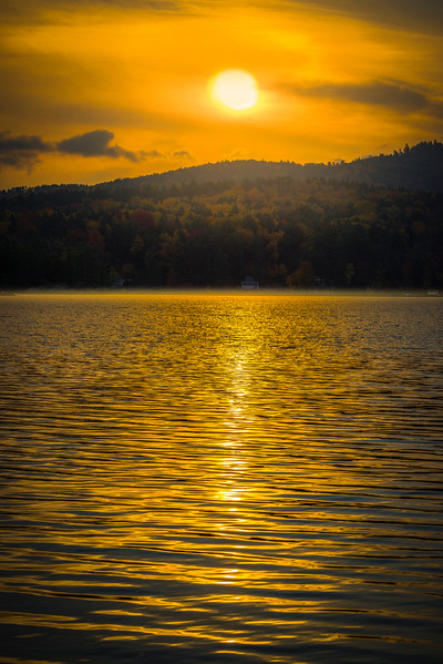 Sunrise Over Lake Iroquois - Vermont