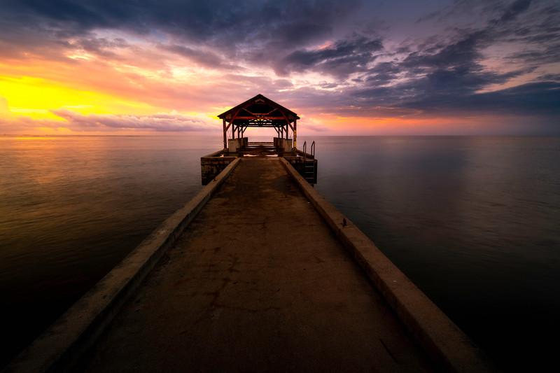 Surreal Moments In Paradise - Waimea Pier, Waimea, South Shore, Kauai
