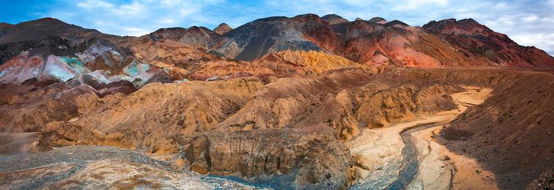 Panaramic View From Mosiac Canyon